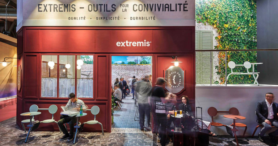 Diverso + | Exhibition stand Extremis